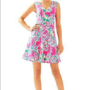 Lilly Pulitzer Dahlia Fit and Flare Dress